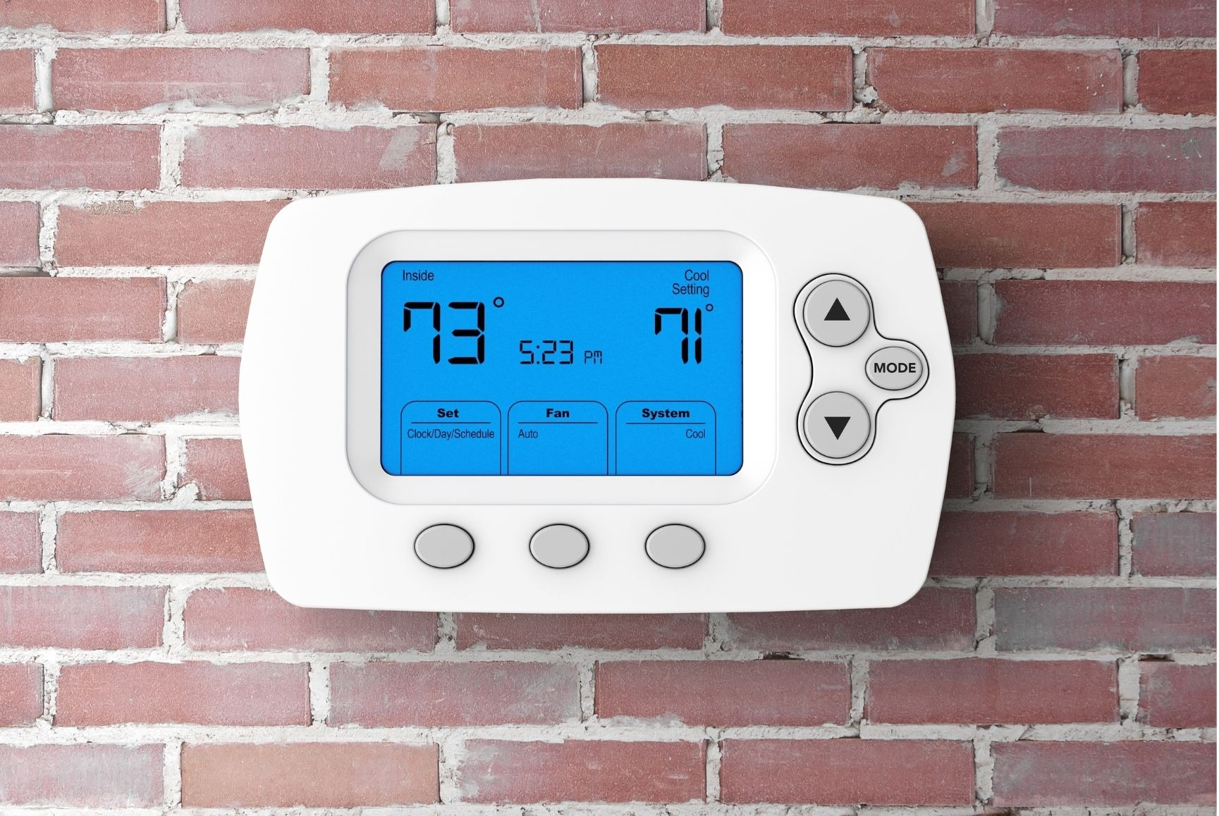 How to a Reset Honeywell Touch Screen Thermostat