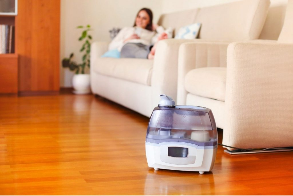 self cleaning humidification