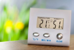 what is a thermo hygrometer