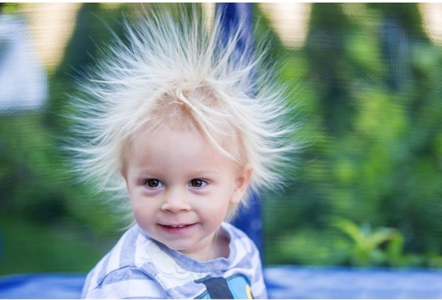 static electricity low humidity