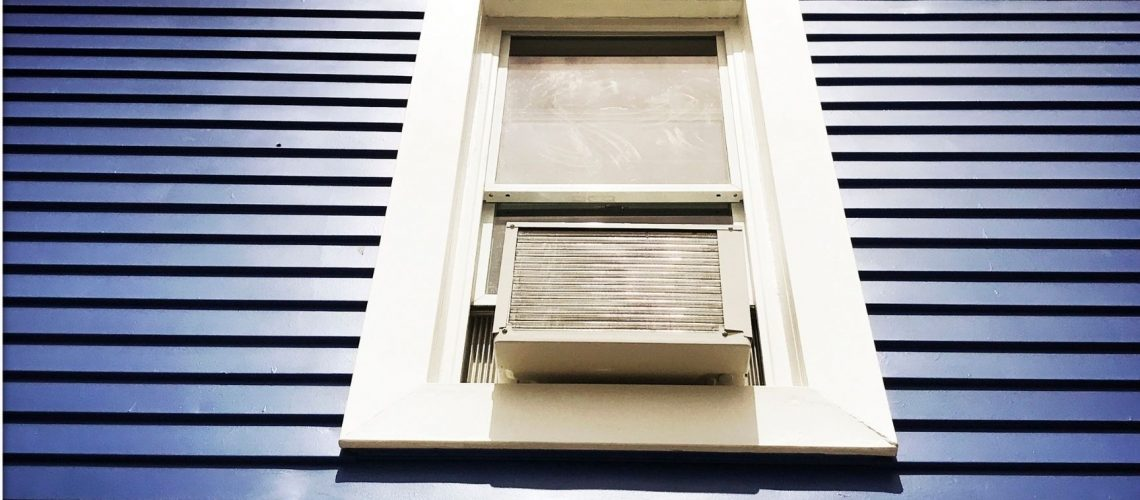 How long can you leave a window air conditioner running